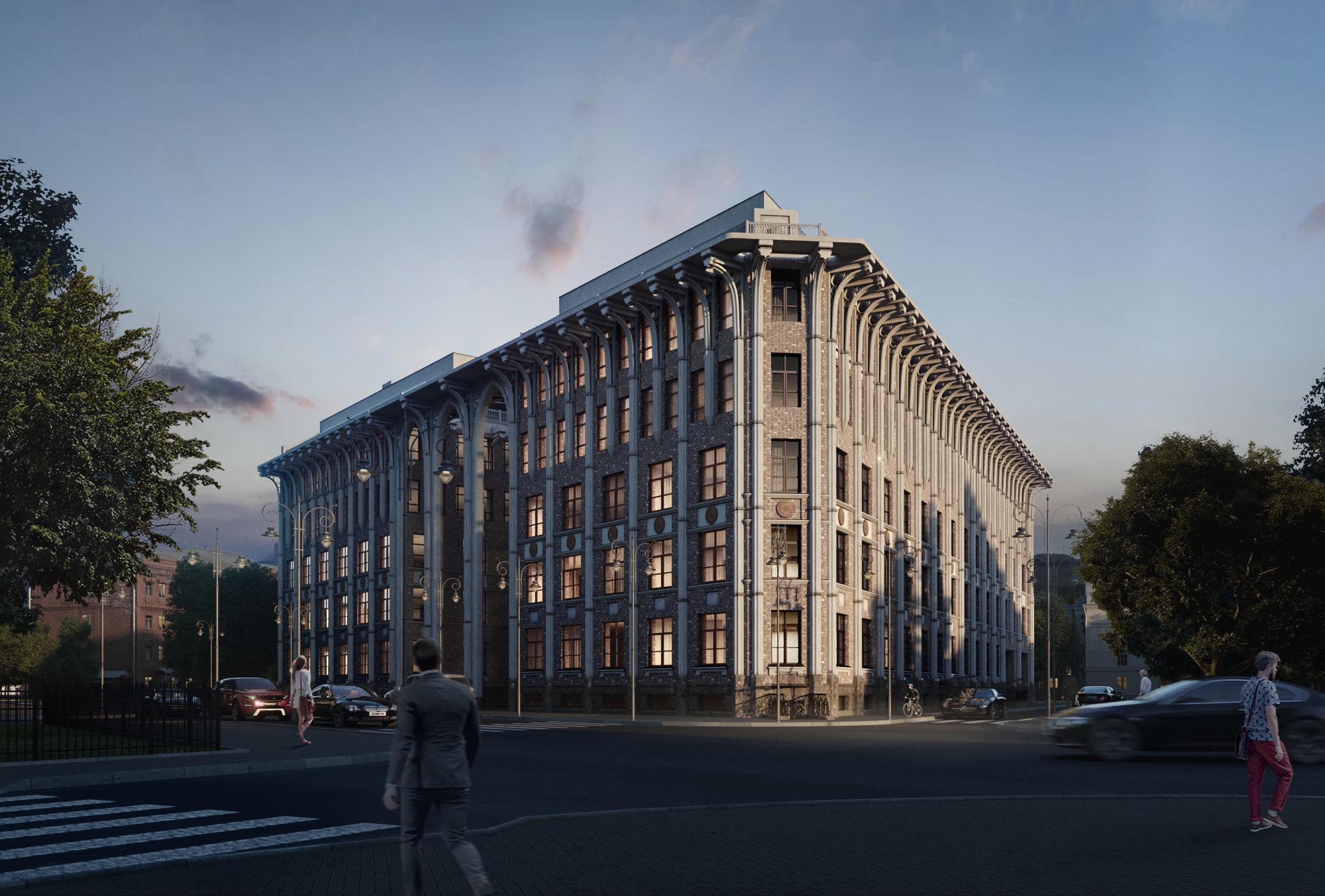 Планировка Однокомнатная квартира площадью 45.93 кв.м в ЖК «Esper Club»